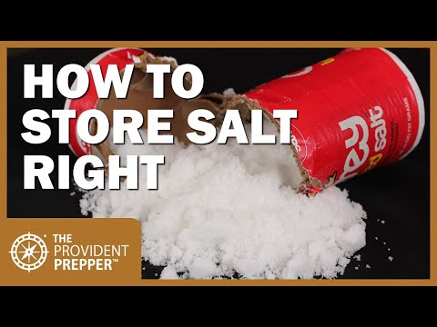 Salt: Why It Is Essential And How To Store It Right