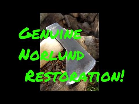 This Restoration is Amazing!!!! Genuine Norlund Hudson Bay Tomahawk