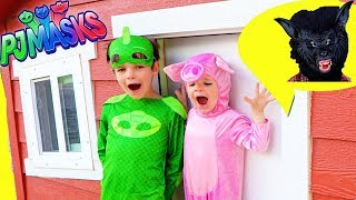 This Little Piggy with PJ Masks Gekko & Paw Patrol Chase! FUNNY!