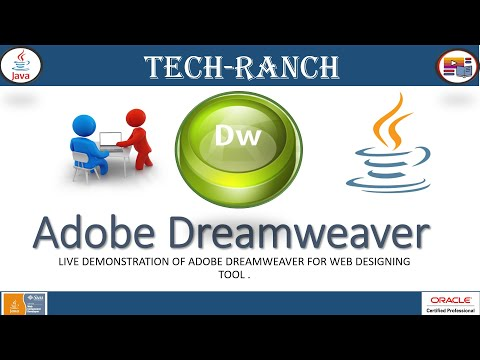 Learn About HTML Editor - Adobe Dreamweaver 2020 | IDE | @Tech-Ranch