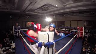 Ultra White Collar Boxing | Southampton | Tom Maughan VS The Ginger Ninja