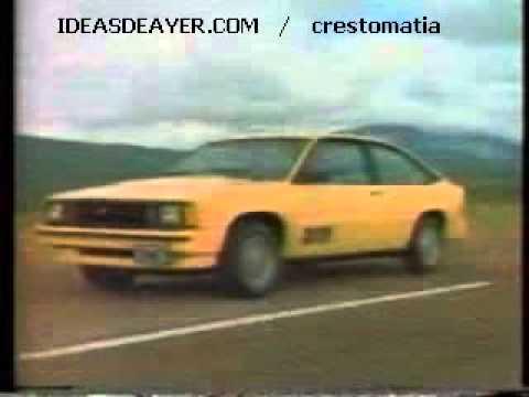 Comercial Chevrolet X-11  1985 (México)