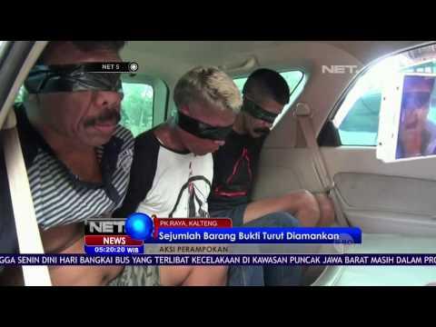 Bobol Brankas di Palangkaraya, 4 Pelaku Dibekuk Polisi NET5