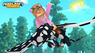 MY BABY NIGHT FURYS FIRST MISSION! | Minecraft Dragons | Little Kelly
