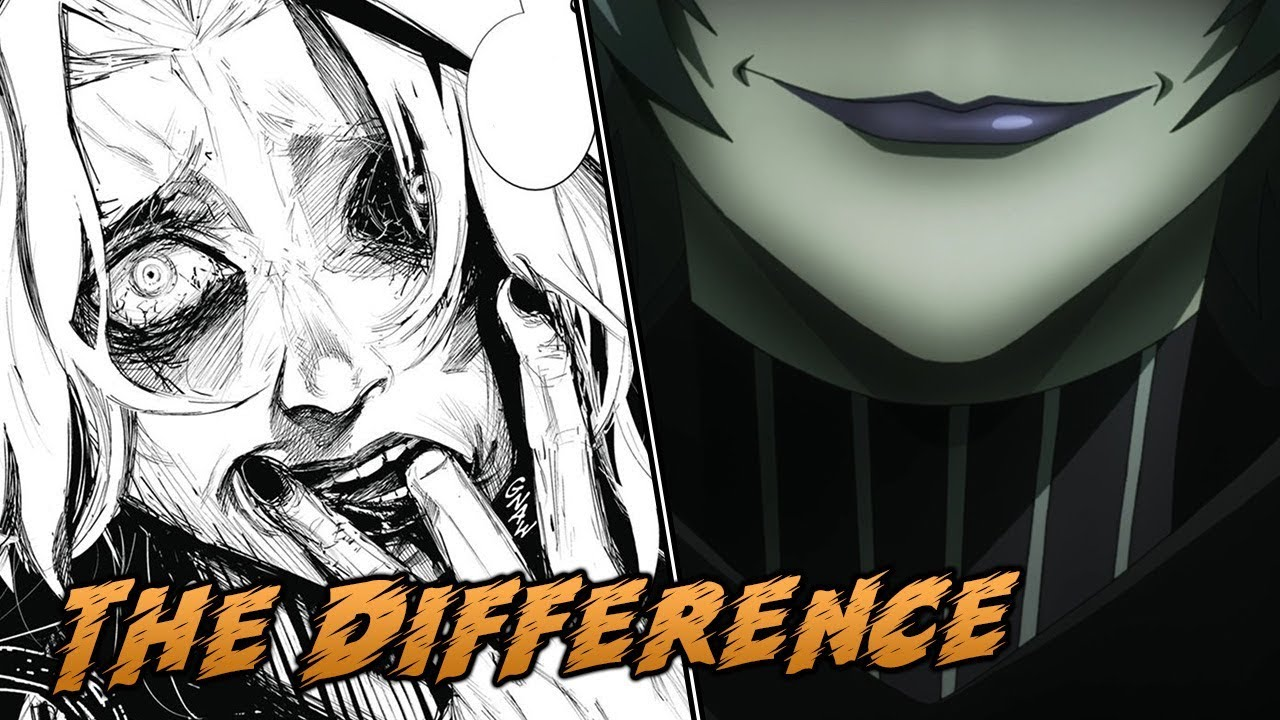 Spot The Difference The Anime | Tokyo Ghoul:re Episode 4