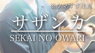 【ウマすぎ注意?? 】サザンカ/SEKAI NO OWARI  平昌五輪テーマ 鳥と馬が歌うシリーズ