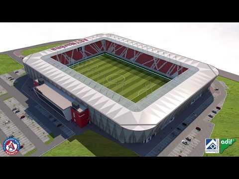 Finálna vizualizácia nového štadióna AS Trenčín