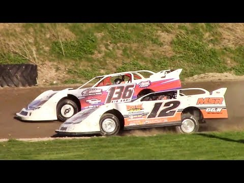 RUSH Crate Late Model Heat One | Genesee Speedway | 5-12-18