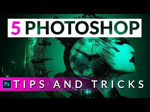 5 Powerful Photoshop Tips, Tricks And Hacks | Photoshop Tutorial In Hindi / Urdu