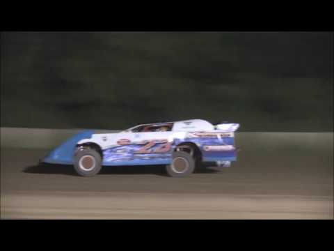 AMRA Late Model Heat #1 from Legendary Hilltop Speedway, August 19th, 2016.