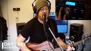 TC Helicon VoiceLive 3 Extreme Demo - Live Acoustic Performer Scenario