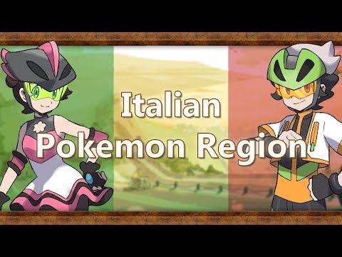 What If Italy Was A Pokemon Region?
