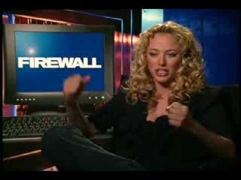 Virginia Madsen interview for Firewall