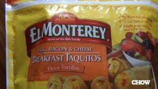 El Monterey Breakfast Taquitos