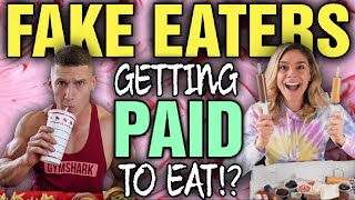 Fake Eaters Jessica Hirsch (CheatDayEats) & Matt Does Fitness & Many Others Get PAID to EAT?!