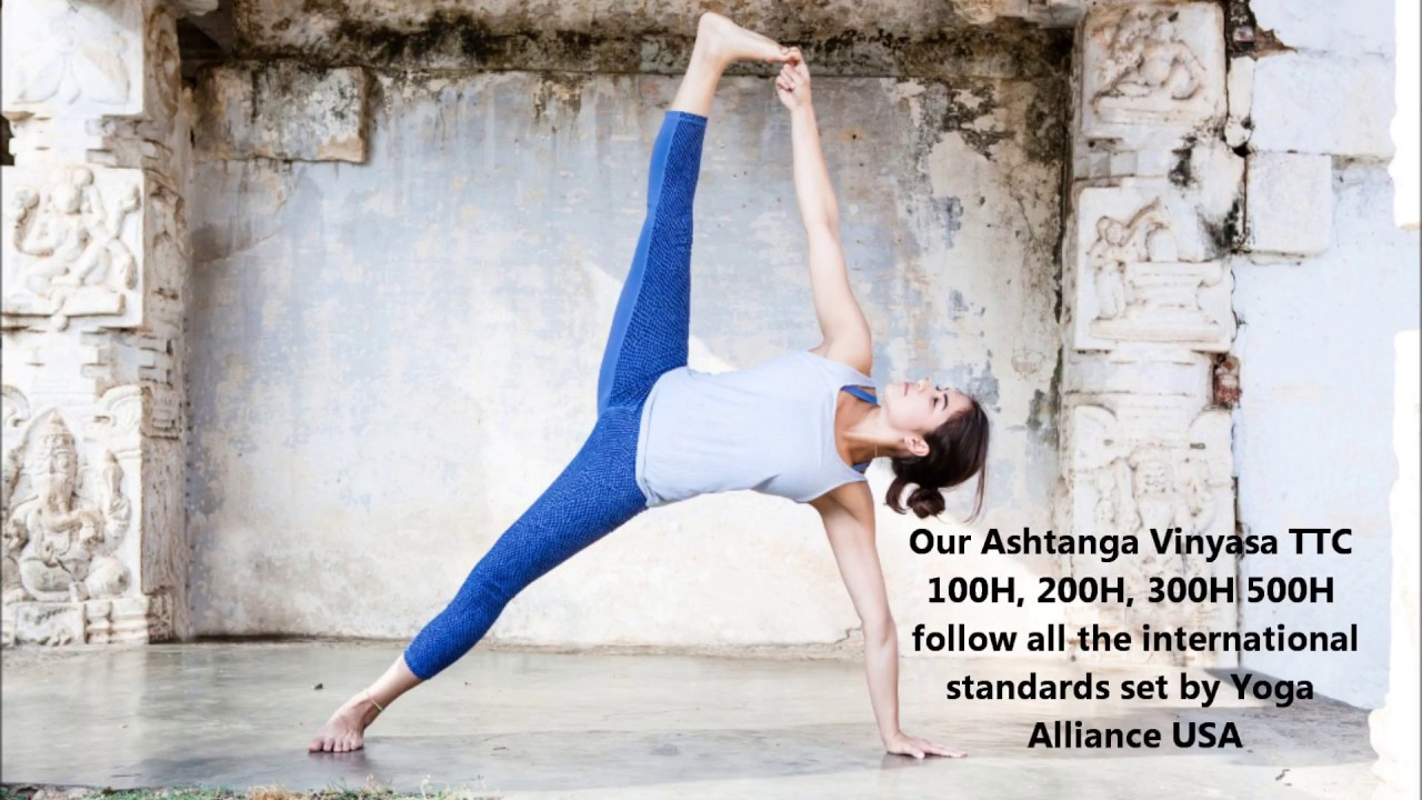 200h Ashtanga Vinyasa Yoga Teacher Training Course With Yoga Alliance Usa Veg Food Accomodation Incluyed Event Retreat Guru