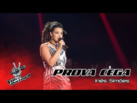 "Inês Simões – ""I Have Nothing""  Prova Cega  The Voice Portugal"