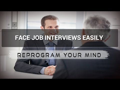 Job Interviews affirmations mp3 music audio - Law of attraction - Hypnosis - Subliminal
