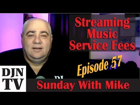 Streaming Music Fees For Mobile DJs | Sunday With Mike | #DJNTV