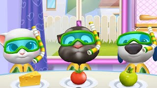 MY TALKING TOM FRIENDS 🐱 ANDROID GAMEPLAY #218 -TALKING TOM AND FRIENDS BY OUTFIT