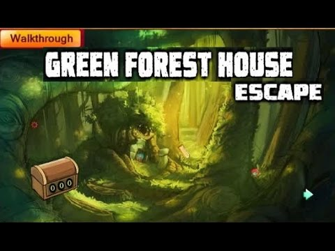 Green forest house escape walkthrough gamesnovel youtube for Minimalistic house escape 5 walkthrough