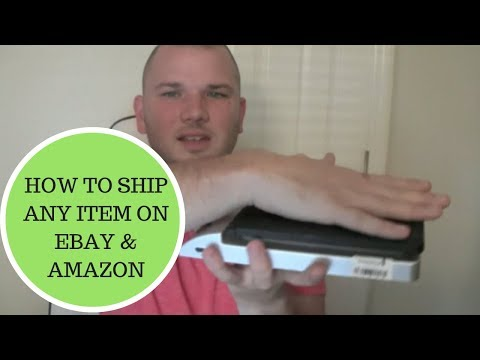 How to ship Any item on Ebay & Amazon Cheap.