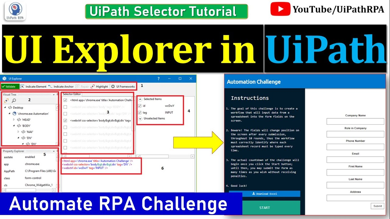 Find Relative Element Activity In Uipath