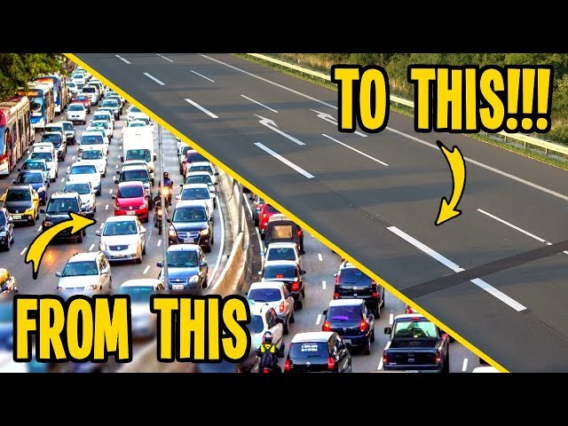 Taking Worlds Worst Traffic & Making it Disappear in Cities Skylines!