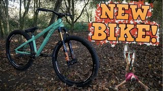 Bike check Dirt Jump skatepark session
