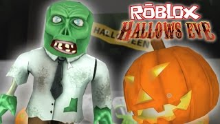 Roblox - Hallows Eve FREEZE TAG!!! - BREAK DANCING TO ROBLOX MUSIC!!