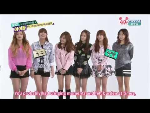 Weekly Idol - A-Pink (14.04.09) [1/2]