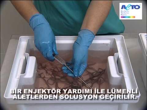 Tıbbi alet dezenfektanı ve temizleyicisi