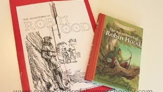 Robin Hood Literature Unit Study & Lapbook Thumbnail