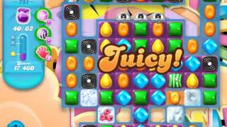 Candy Crush Soda Saga Level 751 - NO BOOSTERS
