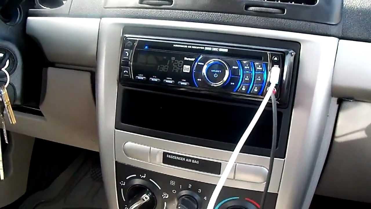 2005 Chevy Trailblazer Wiring Diagram Dual Walmart Brand Stereo On A Cobalt Youtube