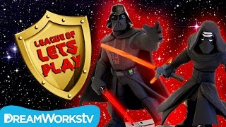 Disney Infinity 3.0 Star Wars Darth Vader, Kylo Ren, & Darth Maul | LEAGUE OF LET'S PLAY