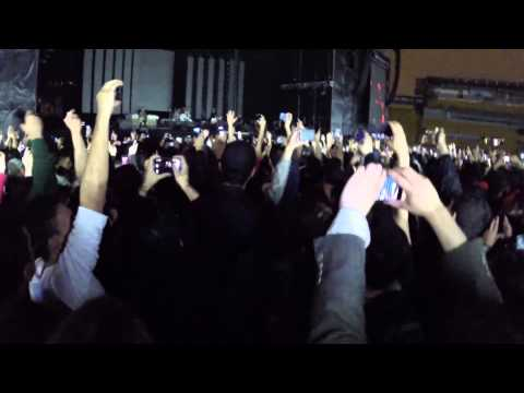 Monkey Wrench - Foo Fighters / LIVE AT BOGOTA - Organic Flashmob Lights / Jan 31 2015