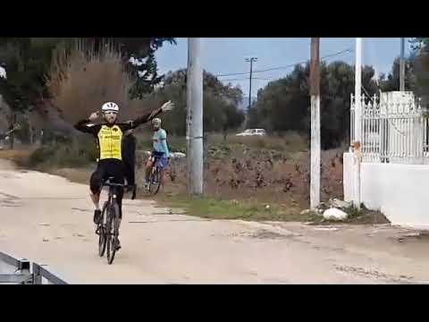 Χάρης Καστραντάς Πρωταθλητής Ελλάδος Cyclo Cross 2020 ΑΕΚ Ποδηλασία (19/01/2020)