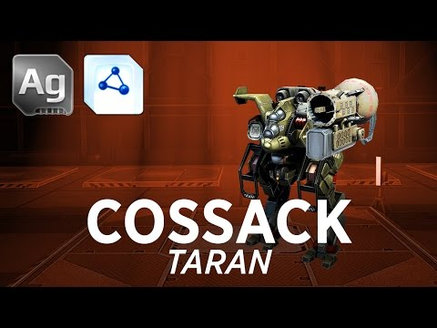 War Robots [WR] - Cossack Taran w/gameplay
