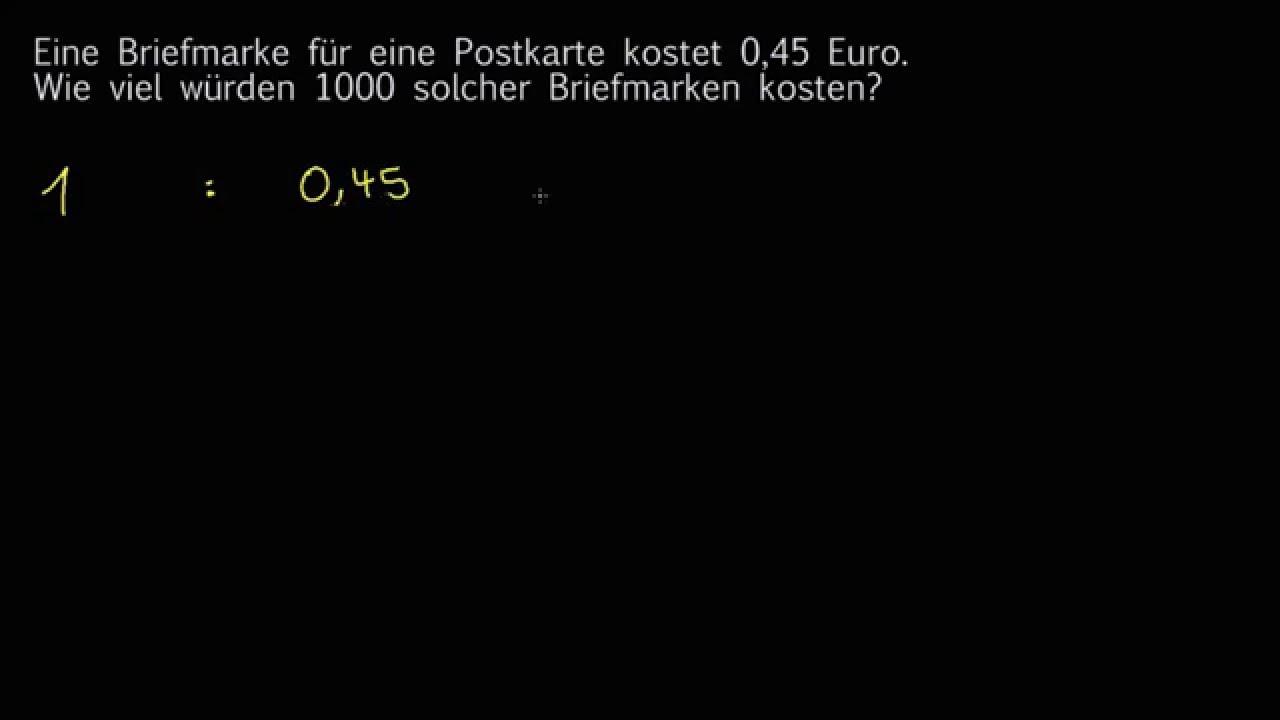 Dezimalzahlen mit Zehnerpotenzen multiplizieren - YouTube