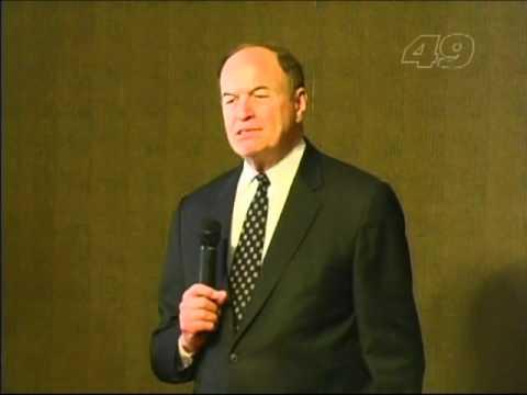 U.S. Senator Richard Shelby in Hamilton, AL