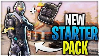 NEW HALO SKIN STARTERPACKAGE!!! Fortnite Battle Royale Duo with Claas