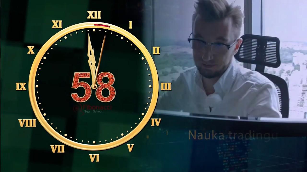 Fibonacci trading krok po kroku - codziennie o 12:00 z Łukaszem Fijołkiem