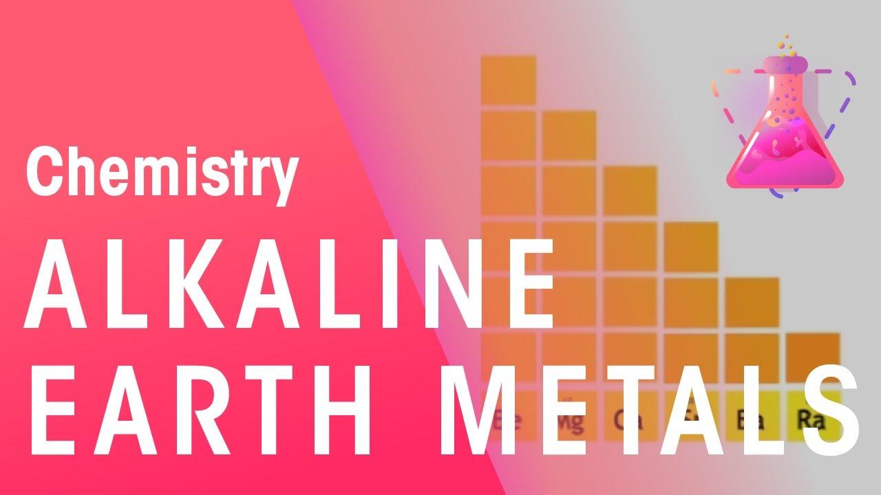 What Is Group 2 Alkaline Earth Metals Properties Of