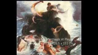 "Arnold Böcklin and Alexander Kanevsky in ""L'Arte e il Tempo"""