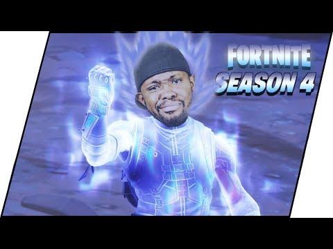 FORTNITE SEASON 4 SUPER HERO HYPE! INFINITY STONE DOMINATION! - Fortnite Season 4 Gameplay