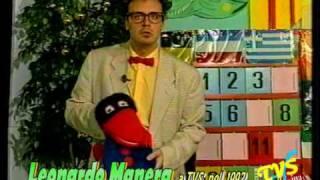 Leonardo Manera a TVS nel 1992 - ventriloquo