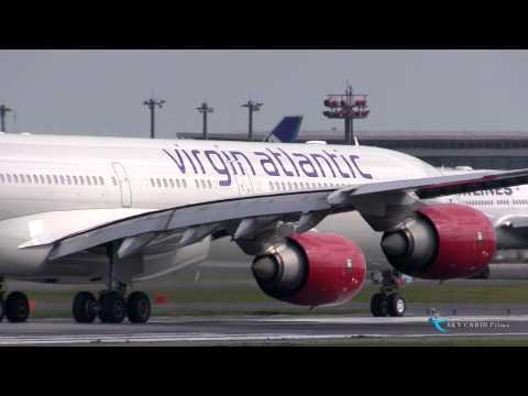 """""""日本撤退!!!Good by Lady Bird!!!"""" Virgin Atlantic Airways(VIR) Airbus A340-600 G-VBVG"""