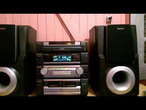 Aiwa ZR 990 conservado e com tudo funcionando - CD As 7 Melhores vol. 4 - Jamie Dee - Dreaming Blue
