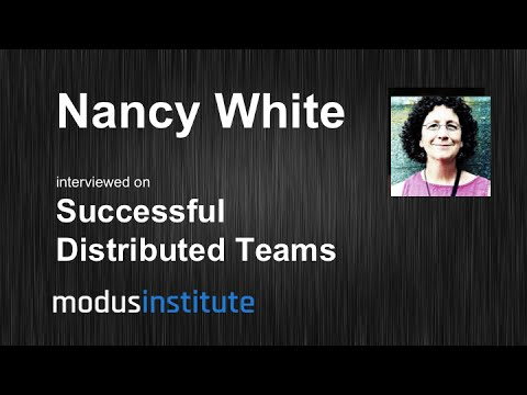 Nancy White interview on Successful Distributed Teams